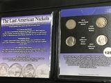 The last American Nickels Unc