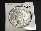 1934 Peace dollar Unc