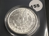 1900 Morgan silver dollar Unc