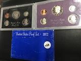 1972, 1983 & 1987 Proof sets