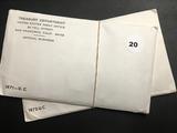 1971 & 1972 P&D Mint sets