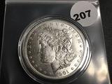 1901-0 Morgan silver dollar Unc
