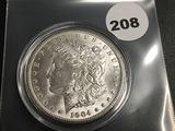 1904-O Morgan silver dollar Unc