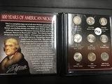 100 Years of American nickels (9) Circ