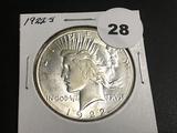 1922-S Peace dollar Unc