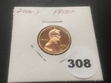 2006-S Lincoln Proof cent