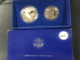 1986 US Liberty Coins Proof set