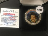 2002 Silver Eagle Painted Elvis