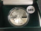 1996 Proof Silver Eagle