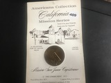 California Mission Series Medal