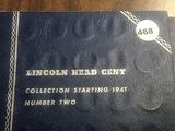 Book of 66 Lincoln Cents