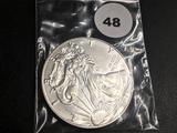 2019 American silver eagle GEM