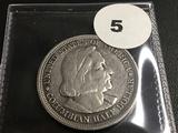1893 Columbian Expo ½ dollar coin
