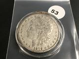 1879-O Morgan silver dollar Fine