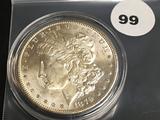 1879-S Morgan silver dollar Unc