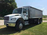 2006 Freightliner Business class M2 106, 18' KANN grain box, only 35,616 one owner miles.