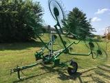 Frontier WR1010 10 wheel rake, center kicker wheel, low acreage.