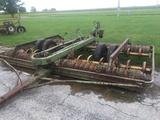 Kewanee 15' cultimulcher, inboard wheels