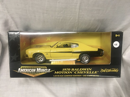 1970 Baldwin Motion Chevelle, 1:18 scale, Ertl, American Muscle