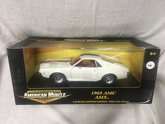 1968 AMC AMX, 1:18 scale, Ertl, American Muscle