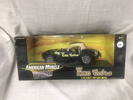 King Cobra, 1:18 scale, Ertl, American Muscle Thunder, New Tool