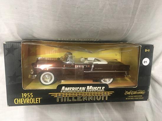 1955 Chevrolet, 1:18 scale,Ertl, American Muscle