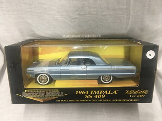1964 Impala SS409, 1:18 scale, Ertl, American Muscle, 1 of 2,499
