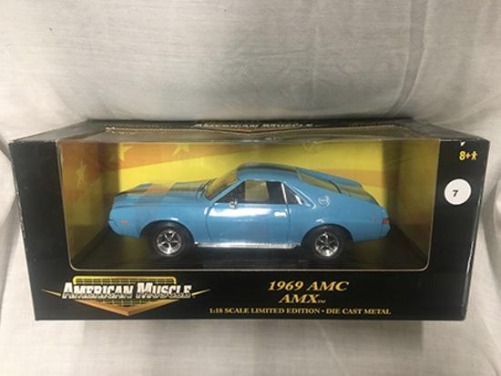 1969 AMC AMX, 1:18 scale, Ertl, American Muscle