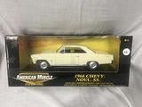 1966 Chevy Nova SS, 1:18 scale, Ertl, American Muscle