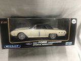 1962 Ford Thunderbird Sport Roadster, 1:18 scale, Welly