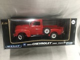1953 Chevrolet 3100 Pickup, 1:18 scale, Welly