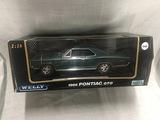 1966 Pontiac GTO, 1:18 scale, Welly
