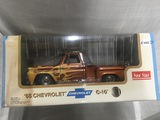 1965 Chevrolet C-10, 1:18 scale, Sunstar, water damage to box