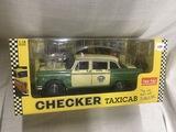 Checker Taxi Cab, 1:18 scale, Sunstar