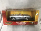 1962 Corvette Convertible, 1:18 scale, Ertl, American Muscle, 50th Anniversary Collection