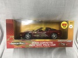 2003 Corvette, Indy 500 Pace Car, 1:18 scale, Ertl, 50th Anniversary Collection, New Tool