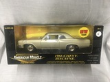 1966 Chevy Biscayne, 1:18 scale, Ertl, American Muscle, Hobby Edition, 1 of 5,000, New Tool