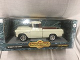 1955 Chevy 3100 Cameo, 1:18 scale, Ertl, American Muscle
