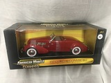 1937 CORD 812 Convertible, 1:18 scale, Ertl, American Muscle
