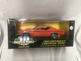 1969 Chevrolet Chevelle SS396, 1:18 scale, Ertl, American Muscle, 10 years