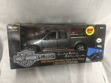 2002 Harley Davidson Super Crew Pickup, 1:18 scale, Ertl, American Muscle, Limited Edition, New Item