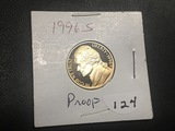 1996 S Jefferson nickel Proof