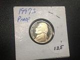 1997 S Jefferson nickel Proof