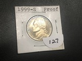 1999 S Jefferson nickel Proof Full steps