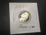 2002 S Jefferson nickel Proof
