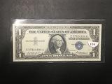 1957 1$ Silver Certificate UNC