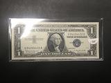 1957 B 1$ Silver Certificate UNC