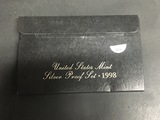 1998 US Silver Proof set