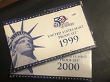 1999 & 2000 US Proof set
