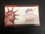 2005 US Silver Proof set